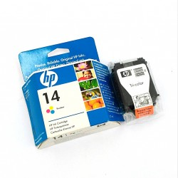 HP C5010DE - Cartuccia in Tricromia HP14 a Getto d'Inchiostro - 23ml